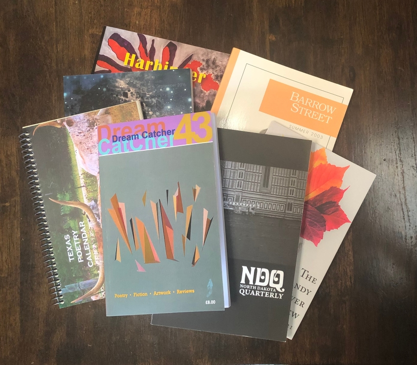 These journals have published Corbett Buchly's poems.